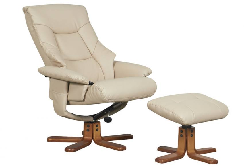 Gfa Beijing Massage Fully Adjustable Swivel Recliner