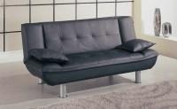 GL Sleeper Sofa Black | Convertible Sleeper Sofas