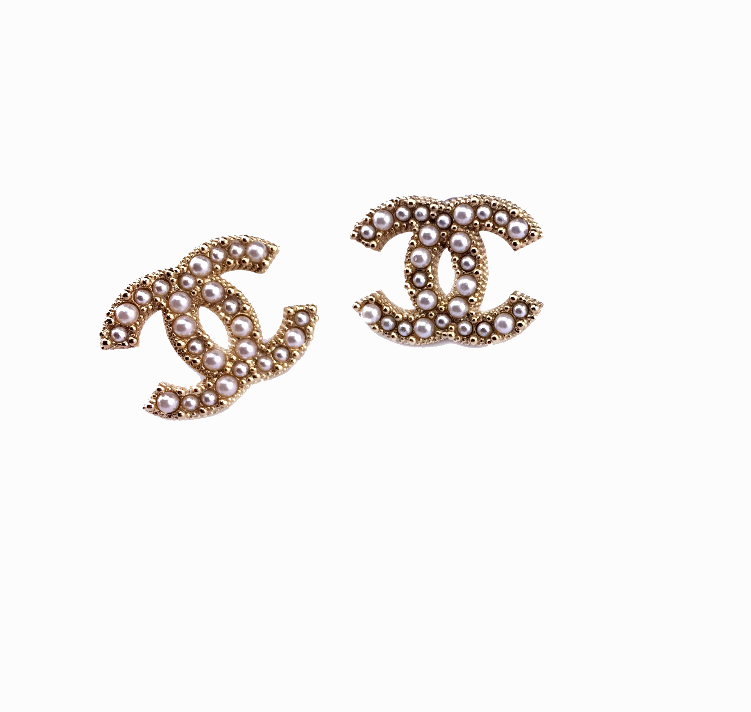 Pearl Stud Earrings Inspired Chanel