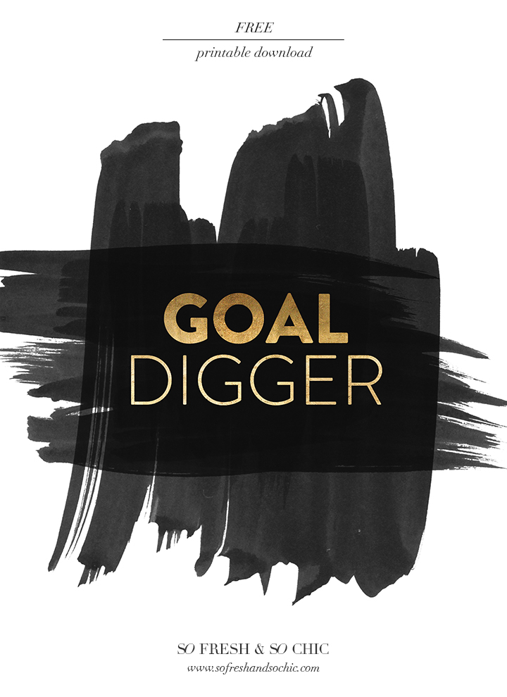 Wallpaper Think Different Quotes For The Home Are You A Goal Digger Free Printable
