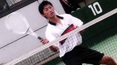 小林幸司(日体大)。昨年のアジア選手権代表。これはその国内予選より。日体ではこの小林と篠原が日本代表ということになる。