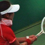 Guangzhou2010 Asian Games Soft Tennis Women's Singles Gold Medal Zhao Lei(CHN)