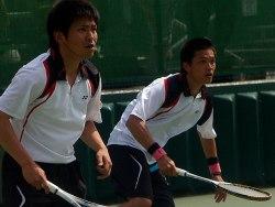 昨年の予選より堀・長江。全日本でベスト8。長江は6月のチャイニーズカップダブルス優勝。
