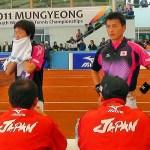 [MOVIE] 世界選手権男子団体決勝戦 日本 vs. 韓国