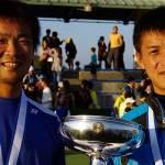 篠原・小林が二連覇 天皇賜杯全日本ソフトテニス選手権