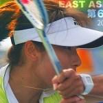 ツァオレイ 男子は3強プラス1という図式だが、女子はそれよりも接近している、彼女の存在があるからである 東アジア競技大会プレヴュー