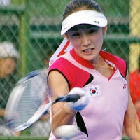 2012アジア選手権(台湾)でのクォンランヒ。