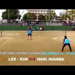 DALSEONG vs JX NIPPON OIL & ENERGY [ASIA CUP Soft Tennis2014]