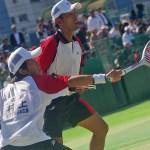 ベスト4 村上・高川(NTT西日本広島) 2011天皇賜杯全日本ソフトテニス選手権