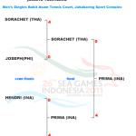 インドネシア、シングルスも制す!第26回東南アジア競技大会 —SEA GAMES—