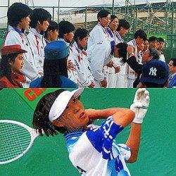 1998年バンコク大会。下は当時の韓国のエース後衛カンジスク。1994年大会で団体優勝。この1998年大会では団体個人の二冠完全優勝(当時は団体と個人戦ダブルスの2種目)。計3つのアジア五輪タイトルをもつ。金三つはキムスイウン(韓国)とならぶ女子の最高記録。