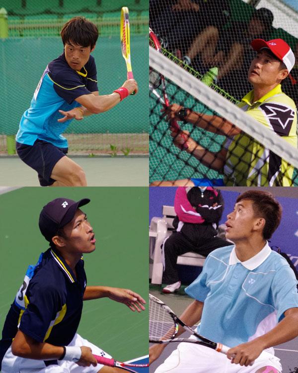 左上から イスヨル、パクキュチョル(韓国)。 左下から林佑澤、余凱文