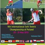 第9回ポーランド国際ソフトテニス大会 5月29日~31日 ワルシャワ