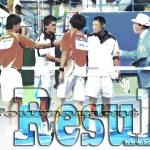 台湾 韓国で決勝(男子) ヨネックスカップ札幌国際 男子 林韋傑・余凱文 女子 水間・榎本