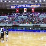 全日本インドア出場選手決定 ユースト配信も決定 2016年1月17日 大阪市中央体育館