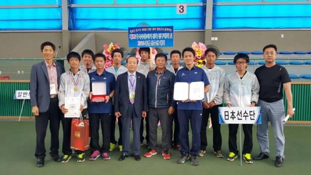 NTT西日本広島。6月に開催された韓国国務大臣杯優勝時の画像
