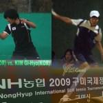 """昇竜期のキムドンフン!!  """"NH2009 Mens SIngles """"KIM Dong-Hoon vs. KIM Gi-Hyo"""
