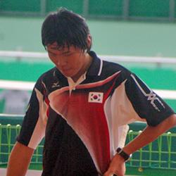 2008アジア選手権でのジェボク。前年の冴えはみられず