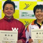 アジア競技大会日本代表選手予選会 男子一位 船水颯人 女子一位 林田リコ (4月14日15日 広島広域公園)