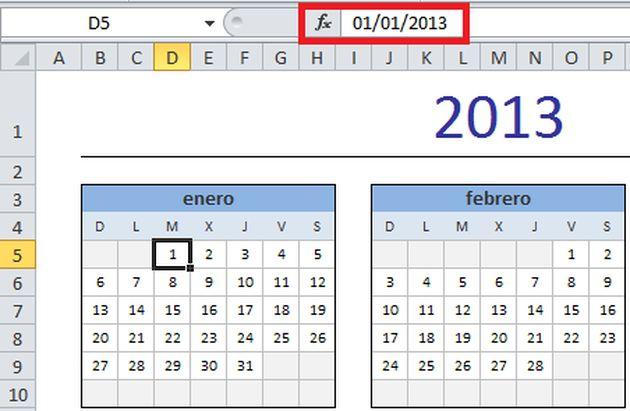 calendarios en excel - Canasbergdorfbib