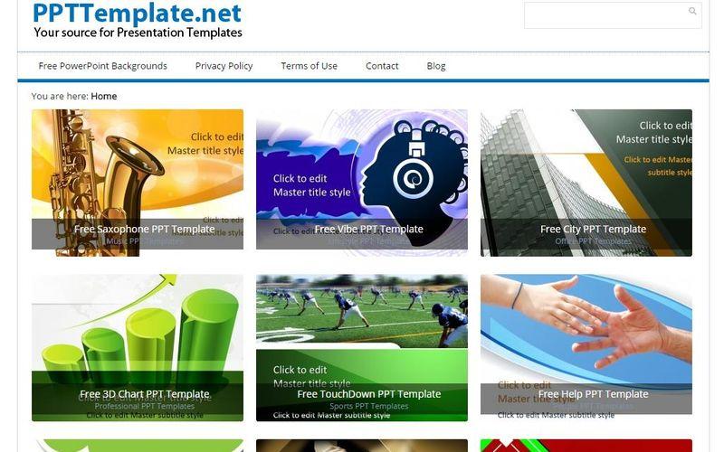 PPT Template gran colección de plantillas gratis para PowerPoint - plantillas powerpoint