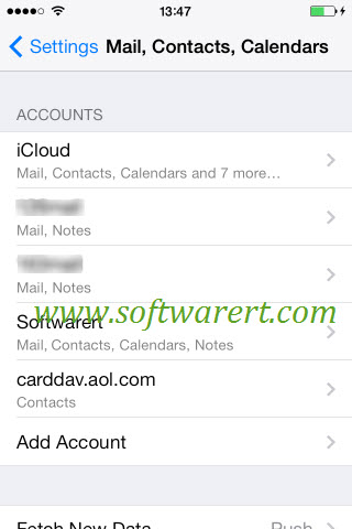 how to set up mail account on ipad