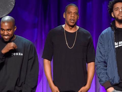 Kanye West Jay Z J. Cole