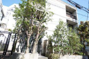 広尾駅徒歩1分。木々に囲まれたサロン可物件