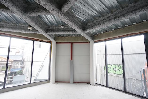 代官山駅徒歩2分の、新築スケルトン空間。