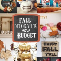 DIY Fall Decorating on a Budget