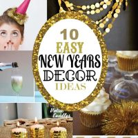 10 Easy New Years Decorating Ideas