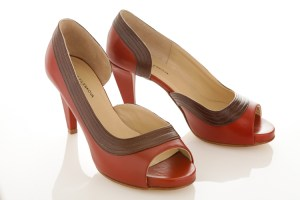 Image de chaussure en studio photo