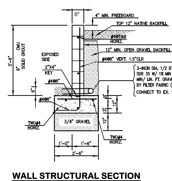septic tank schematic side view