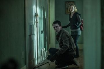 Dylan Minnette and Jane Levy star in Screen Gems' horror-thriller DON'T BREATHE.