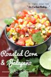 Roasted Corn & Jalapeño Salsa