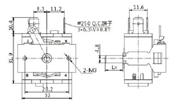 China Manufacturer For Push Lock Switch Soken Patio