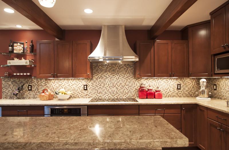 Berkeley Dark Cabinets Backsplash Ideas - kitchen backsplash ideas for dark cabinets