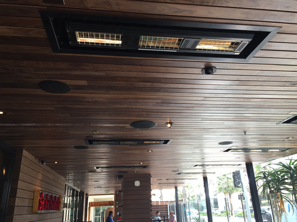 Solaira ICR, Performance, low clearance and flush mount infrared heater