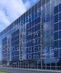 Solar facade Solar cladding
