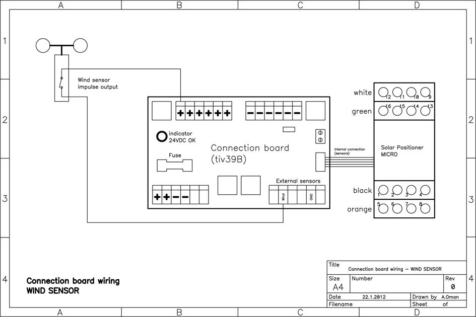 Connection Board SESTIV39E (distribution panel) / 5515 / SESTIV39E