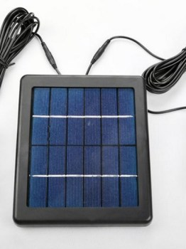 solar panel with two bulb lights 1