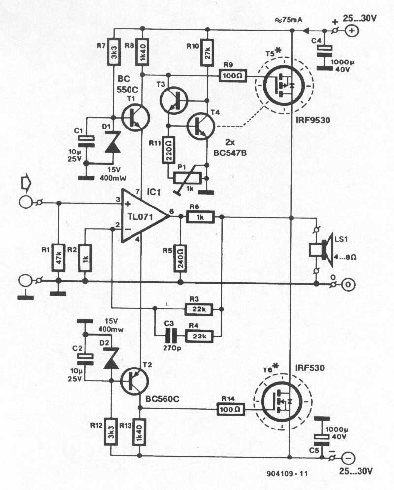stage 25 amp schematics