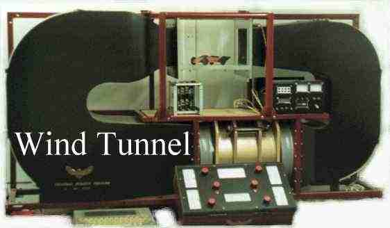 open circuit wind tunnel and closed circuit wind tunnel as shown in