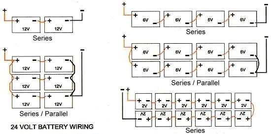 48 volt battery bank wiring diagrams