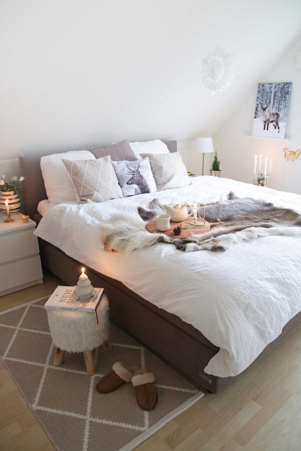 Schlafzimmer #Boxspingbett #bett #bedroom Bedroom Pinterest
