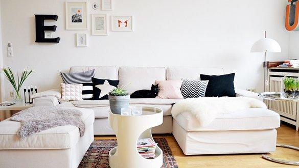 Ideen und Inspirationen für Ikea Sofas - ikea wohnzimmer weis