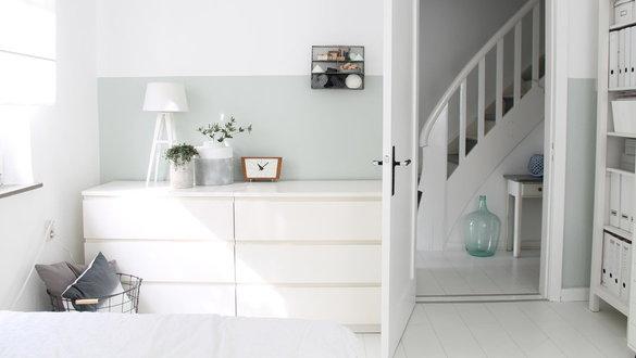Ideen und Inspirationen für die Ikea Malm Serie - schlafzimmer mit malm bett 2