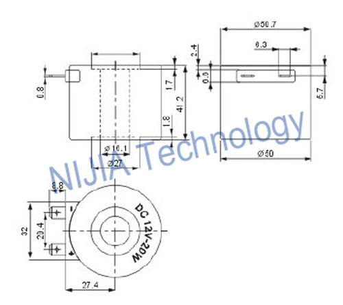 24vdc solenoid wiring diagram for a