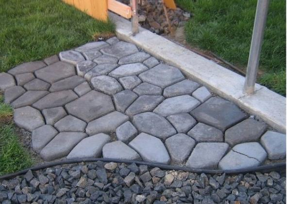 Diy Concrete Patio Ideas & How To Make Cement Patio – My So Called