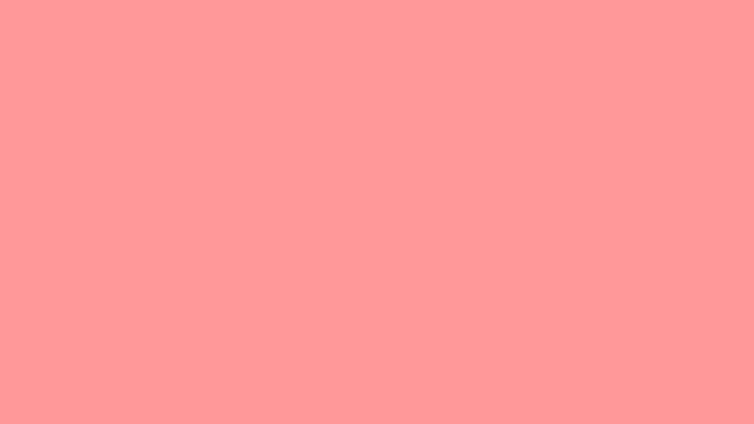 Cute Pink Wallpapers Download 2560x1440 Light Salmon Pink Solid Color Background
